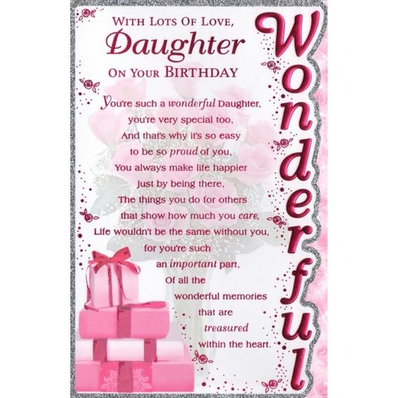 birthday card for daughter from dad ; birthday-card-sayings-daughter-card-invitation-design-ideas-birthday-card-for-a-daughter-elegant-printable
