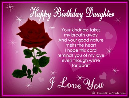 birthday card for daughter from dad ; mother-daughter-greeting-cards-best-25-mom-birthday-wishes-ideas-on-pinterest-happy-birthday-free