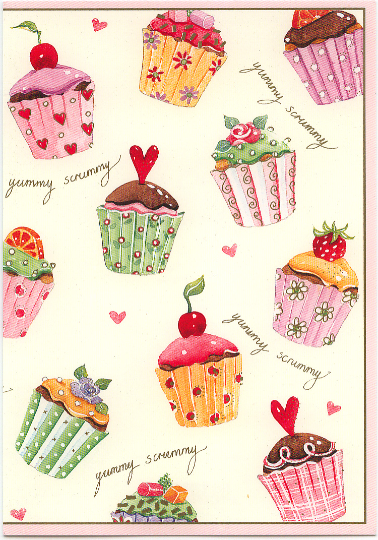 birthday card front covers ; greeting-card-cover-cupcake-birthday-card-2010-ToWjOk