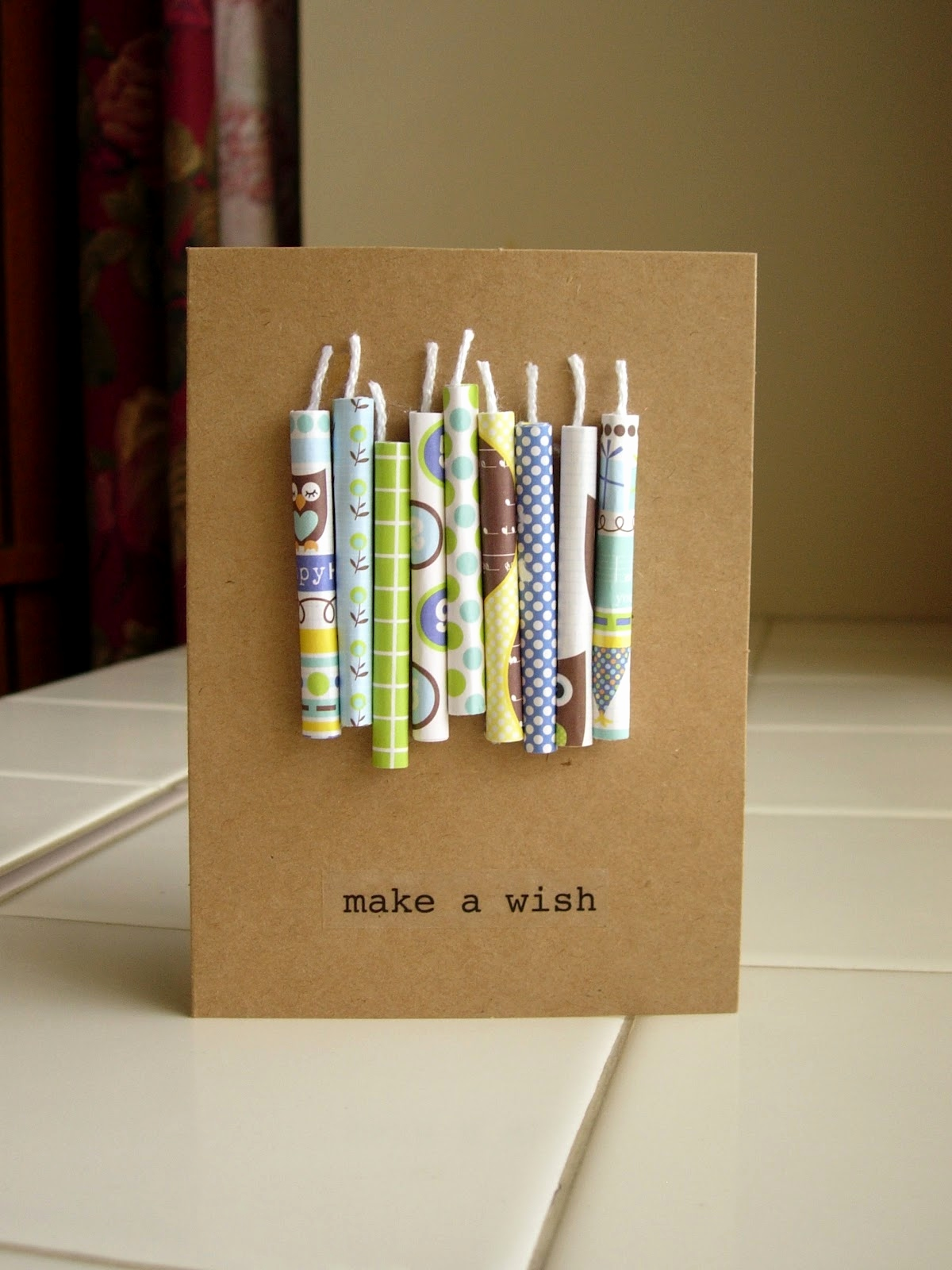birthday card making ideas pinterest ; pinterest-birthday-card-making-ideas-luxury-birthday-candles-card-rolled-up-scrapbook-paper-and-string-so-of-pinterest-birthday-card-making-ideas