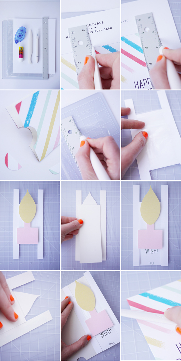 birthday card making step by step ; 4_birthday_how_to