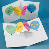 birthday card making step by step ; BDPopupCutTop170