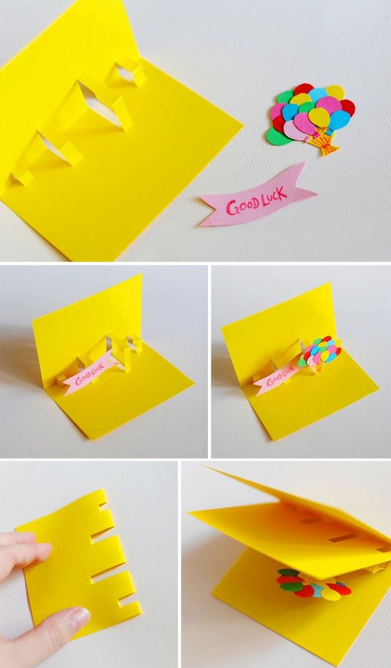 birthday card making step by step ; how-to-make-a-pop-up-birthday-greeting-card-diy-card-an-extremely-easy-way-to-make-a-pop-up-card-of-anything-ideas
