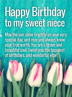 birthday card sayings for niece ; a22cf32f948d2e1bda09a0a794102907