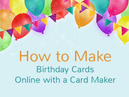 birthday card with image ; how-to-make-birthday-cards
