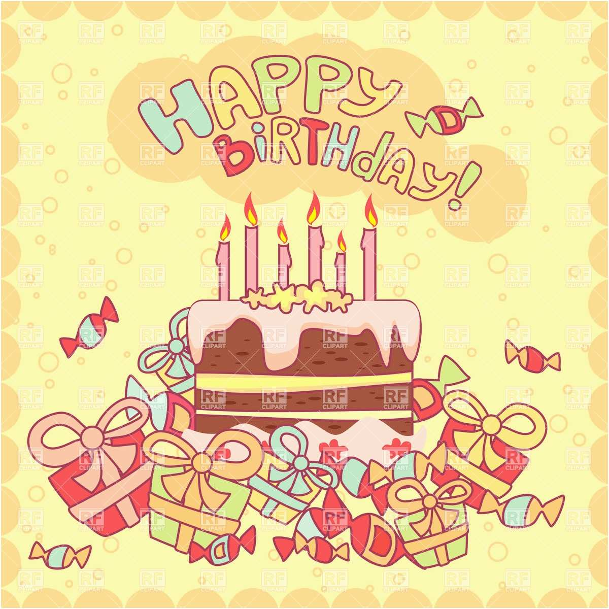 birthday card with pictures free ; free-birthday-card-beautiful-happy-birthday-card-with-cake-candles-and-ts-royalty-free-vector-of-free-birthday-card