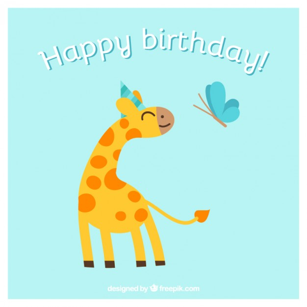 birthday card with pictures free ; happy-birthday-card-with-animals_23-2147499818