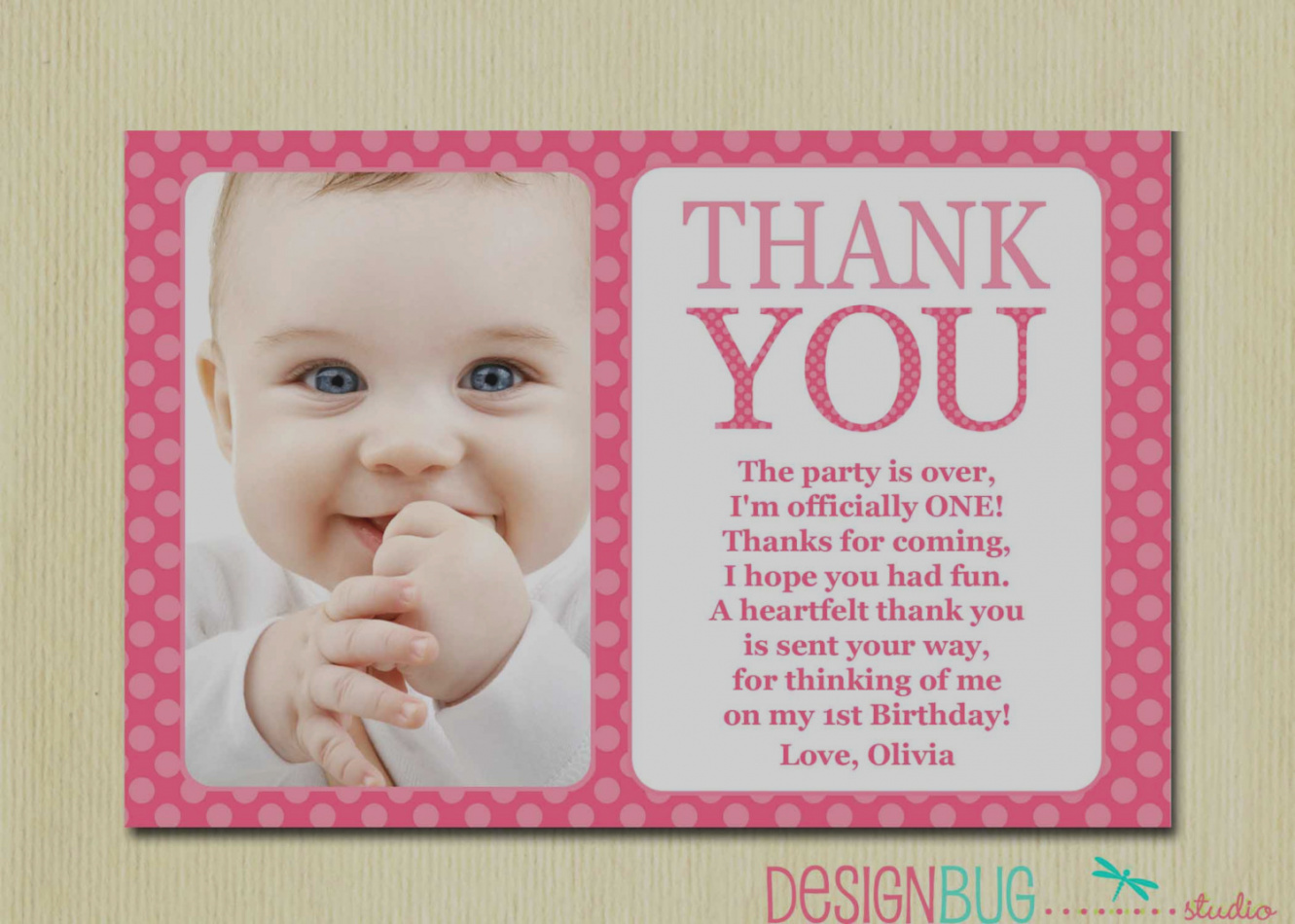 birthday card wordings for 1st birthday ; unique-of-1st-birthday-thank-you-card-wording-first-matching-4x6-the-big-one-diy