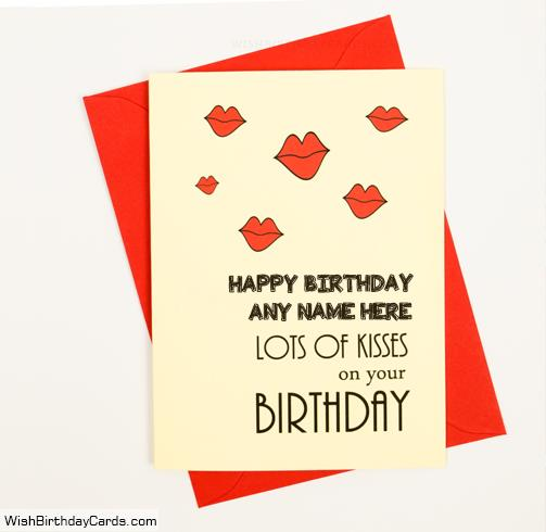 birthday cards for lover with name and photo ; romantic-handmade-birthday-cards-for-lover-with-name5903