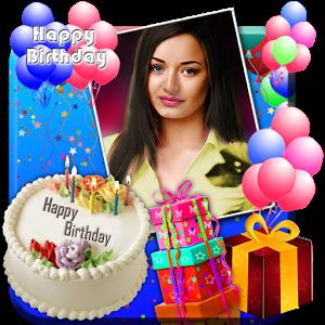 birthday cards with name and photo editor online ; s