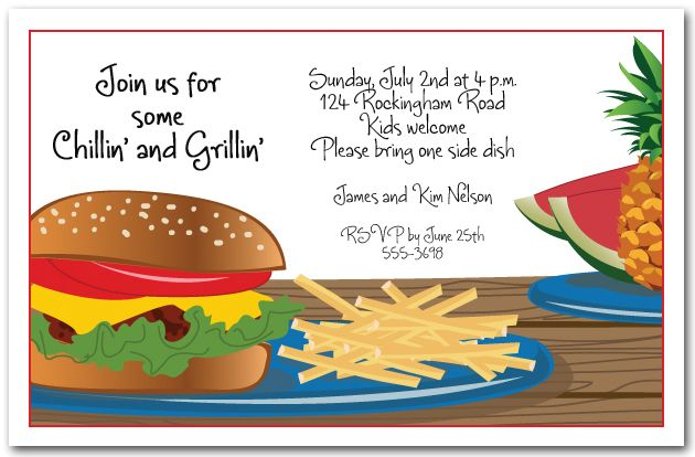 birthday cookout invitation templates ; bff6f31ed8698688292d5418d495d30f
