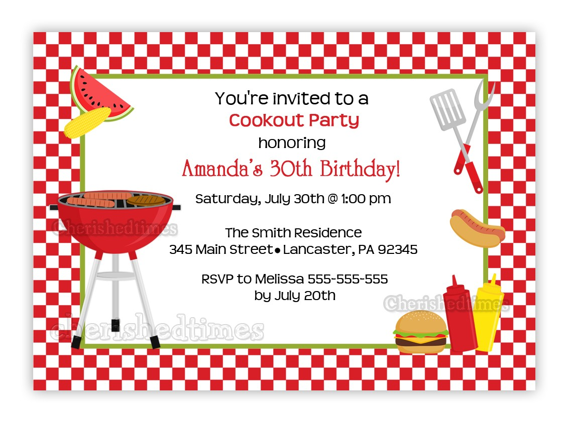 birthday cookout invitation templates ; birthday_cookout_invitations_printable