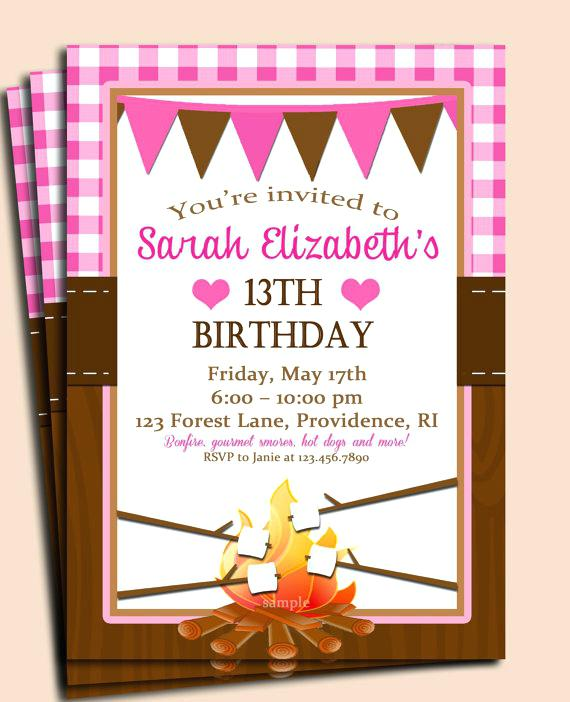 birthday cookout invitation templates ; free-printable-cookout-invitations-campfire-birthday-party-invitation-kids-camping-cookout-barbecue-s-invitation-templates-free-printable-graduation-cookout-invitations
