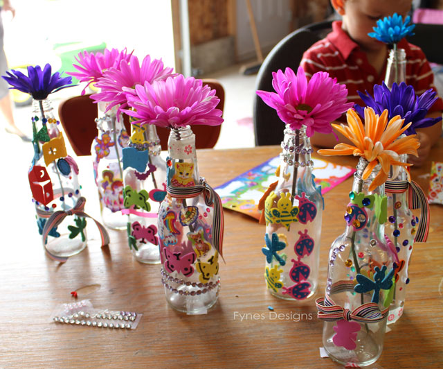birthday crafts for kids to make ; party-craft