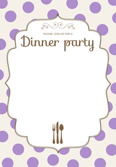 birthday dinner party invitation templates ; 3ffb74d6421e658f1e7166c4440ee5a4--dinner-party-invitations-progressive-dinner