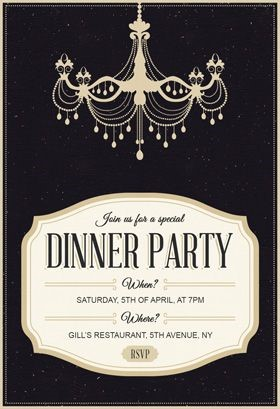 birthday dinner party invitation templates ; Charming-Birthday-Dinner-Invitation-For-Additional-Free-Birthday-Invitation-Templates