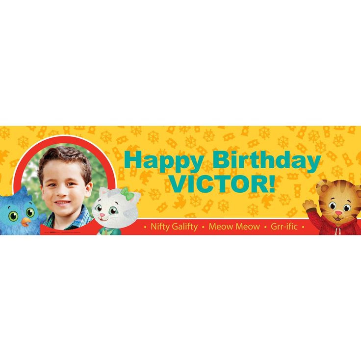 birthday express banners ; birthday-express-banners-fresh-42-best-daniel-tiger-s-neighborhood-party-ideas-images-on-pinterest-image-of-birthday-express-banners