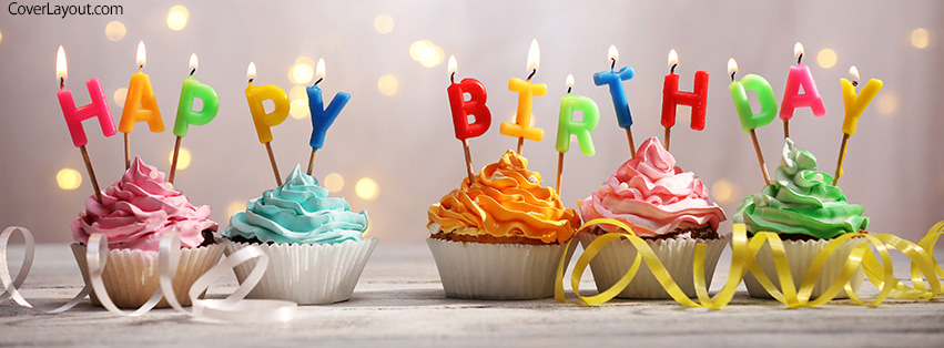 birthday facebook cover photo ; cupcakes_birthday_happy