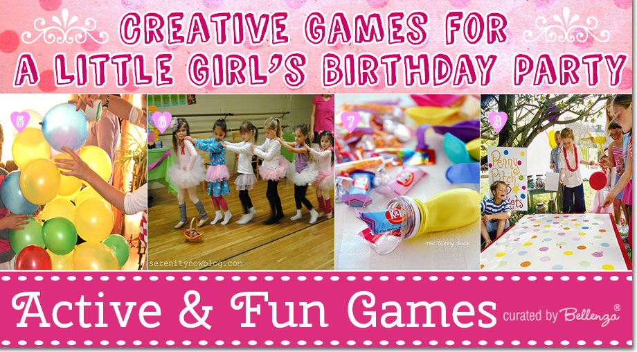 birthday games for girls ; girl-b-day-activities