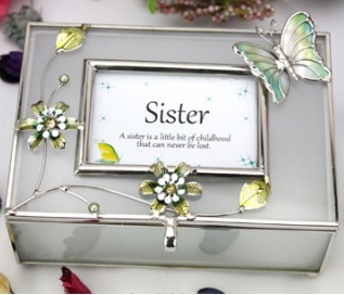birthday gift picture for sister ; Translucent-glass-jewellery-box-for-sister