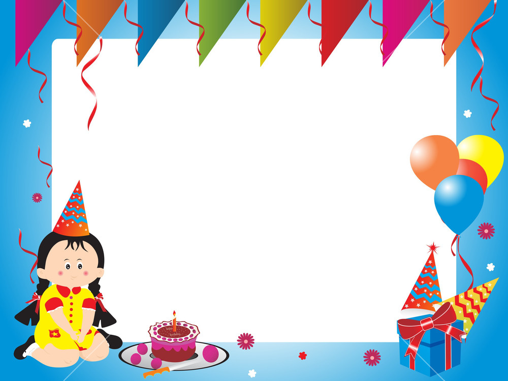 birthday girl picture frame ; abstract-birthday-frame-with-birthday-girl_f1OkigF__SB_PM
