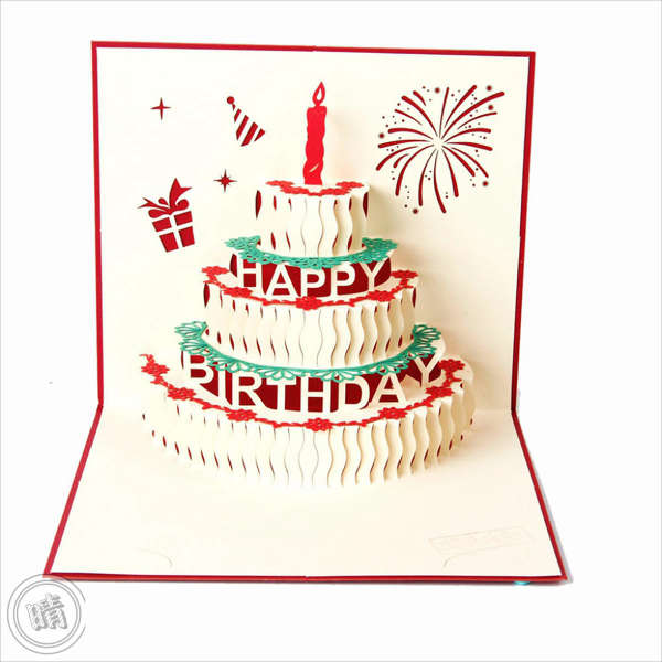 birthday greeting card template ; Pop-Up-Birthday-Greeting-Card