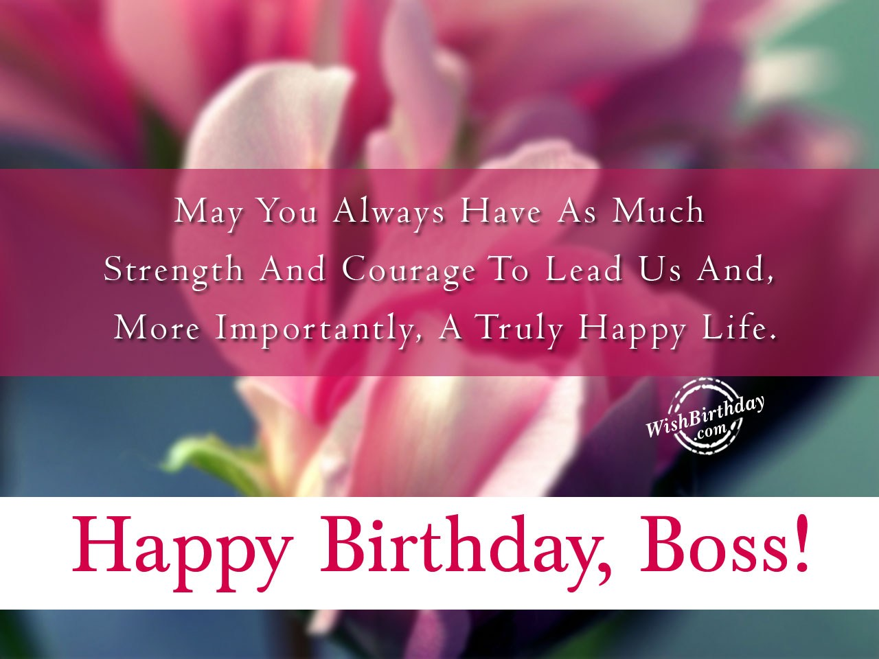birthday greeting cards for boss happy birthday ; A-Truly-Happy-Life