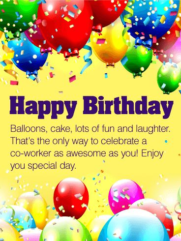 birthday greeting cards for office colleagues ; ecd1c6096a69595207ac0eee74749f1d