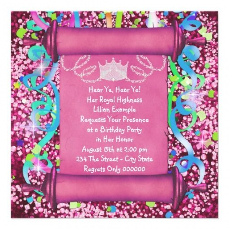 birthday invitation 7th birthday girl ; best-images-about-th-birthday-party-invitations-on-2