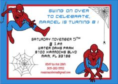 birthday invitation for 7 years old boy ; 51a8d898f1bb79e87e7d4a583dce9a02