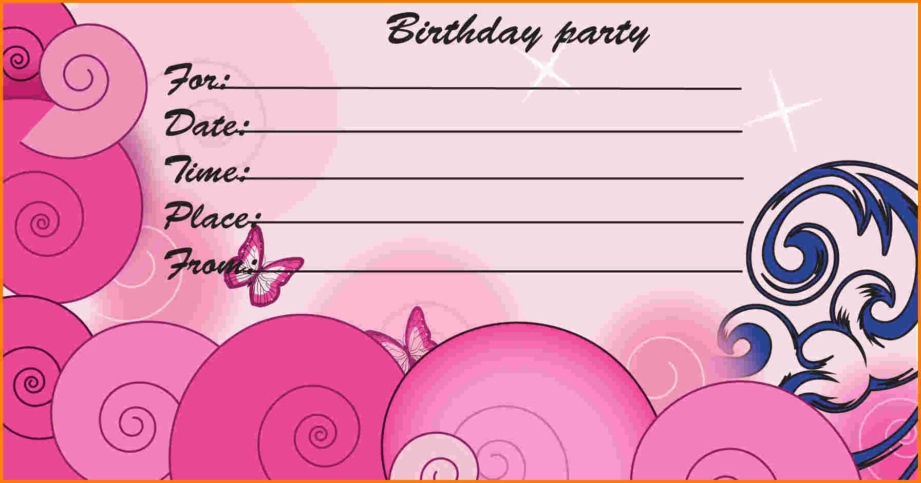 birthday invitation print out ; free-printable-birthday-invitation-templates-birthday-invitations-free-printable-birthday-invitation-template-with-pink-color-birthday-party-invitation-cards-and-templates