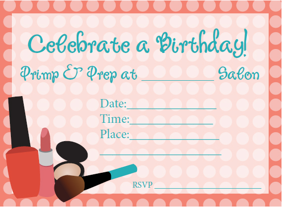 birthday invitation print out ; free-printable-girl-birthday-invitations-free-printable-girl-birthday-party-invitations-free-salon-birthday-party-printables-from-poofy-cheeks-catch-my-download