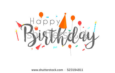 birthday logo design ; stock-vector-happy-birthday-typographic-vector-design-for-greeting-cards-birthday-card-invitation-card-523194811