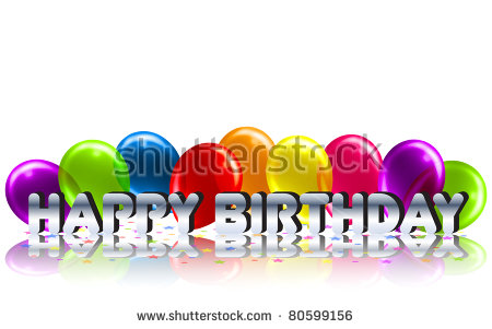 birthday message background ; stock-photo-cool-birthday-message-with-reflection-background-80599156