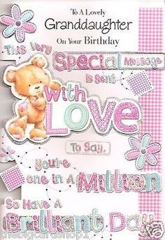 birthday message for 1 year old granddaughter ; 3d79e9a08b28ea5a1779e586495af20e--birthday-wishes-cards-birthday-messages