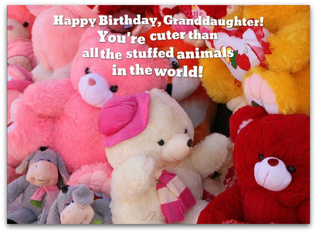 birthday message for 1 year old granddaughter ; granddaughter-birthday-wishes1B