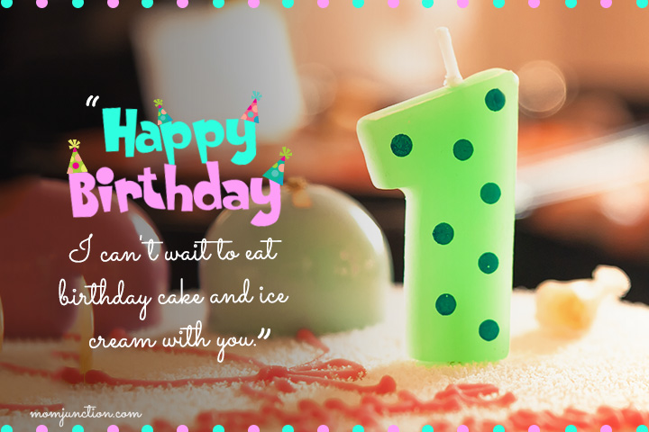 birthday message for 1 year old nephew ; First-Birthday-Wishes-For-A-Niece