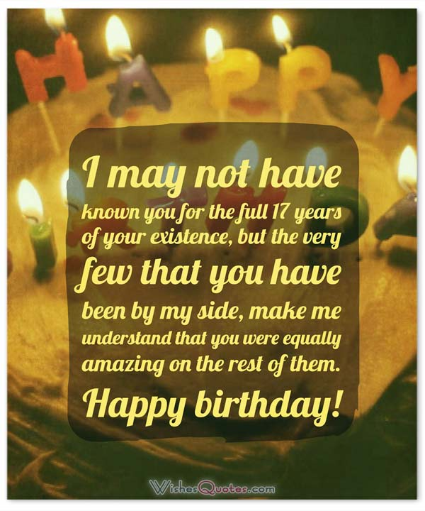birthday message for 18 years old girl ; 17th-birthday-message