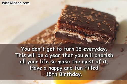 birthday message for 18 years old girl ; 587-18th-birthday-wishes
