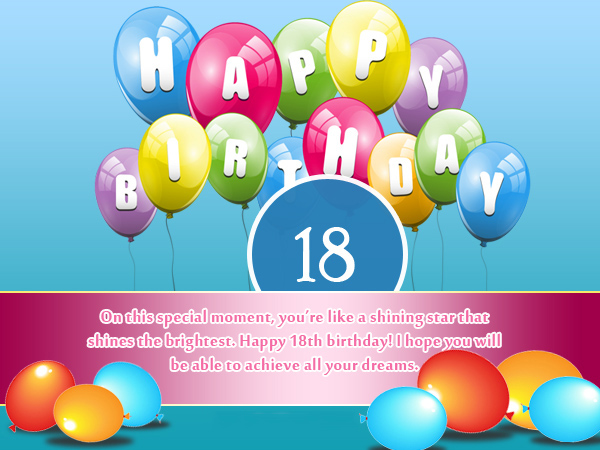 birthday message for 18 years old girl ; Daughter-18th-Birthday-Wishes-and-Messages