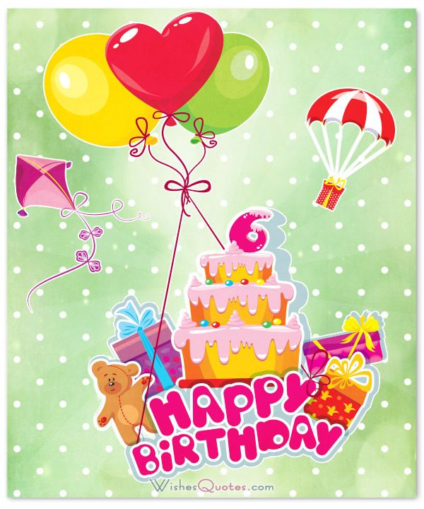 birthday message for 6 year old ; fc1f4a438c3a60f74b976cb803cfda66