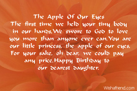 birthday message for 6 year old daughter ; 1975-daughter-birthday-poems