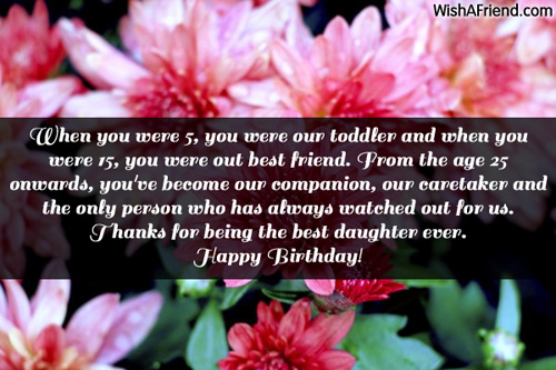 birthday message for a 5 year old daughter ; 1419-daughter-birthday-messages