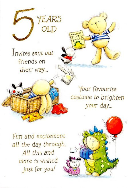 birthday message for a 5 year old daughter ; 4-year-old-birthday-card-sayings-5323871b1dc0fcd8f7467261b67d09b4