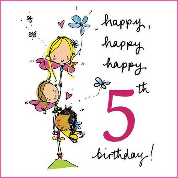 birthday message for a 5 year old daughter ; Happy-5th-Birthday-1