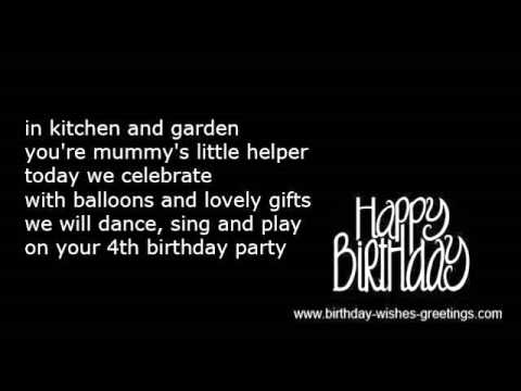 birthday message for a 5 year old daughter ; hqdefault