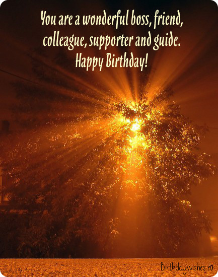 birthday message for a boss and friend ; birthday-wishes-for-employer