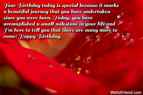 birthday message for a debutant friend ; 1498-inspirational-birthday-messages