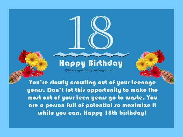 birthday message for a debutant friend ; 18-birthday-messages