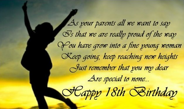 birthday message for a debutant friend ; 18th-birthday-greeting-for-daughter-min